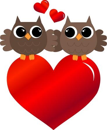 buhos y lechuzas: D�a de San Valent�n o cumplea�os