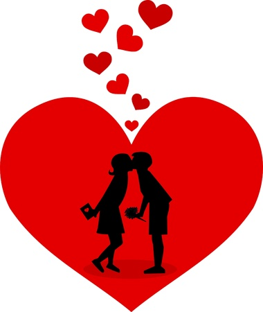 love picture: valentines day Illustration
