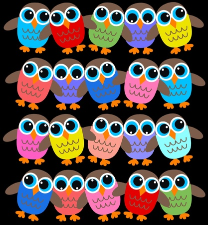 owl background Vector