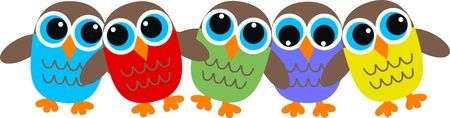 owl header Vector