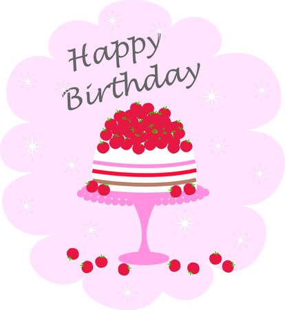 happy birthday Stock Vector - 12372090