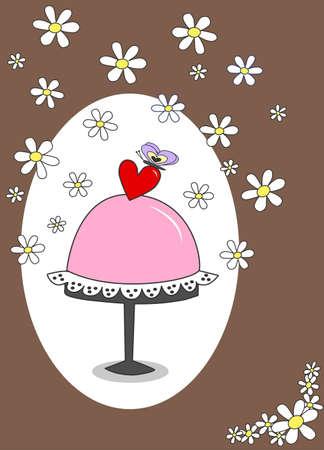 picture frames: celebration or invitation Illustration