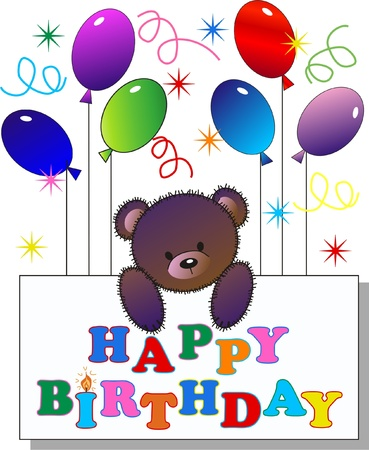 greeting card background: happy birthday
