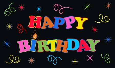 verjaardag frame: gelukkige verjaardag