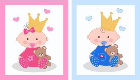 princesa: los recién nacidos
