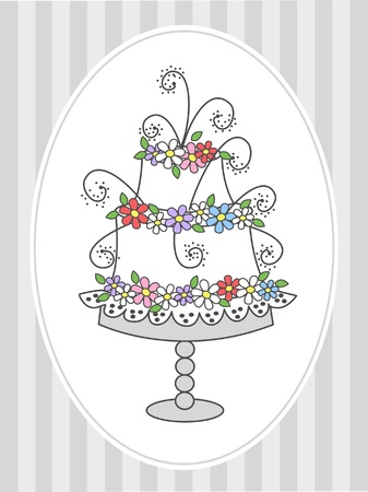 celebration or invitation Stock Vector - 12782702