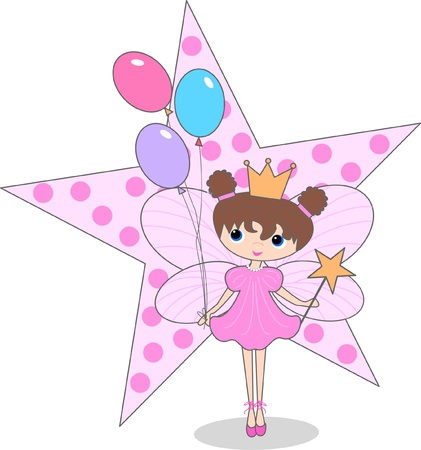 fairy princess: happy birthday