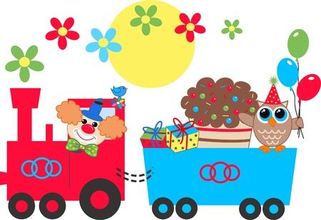wagons: happy birthday