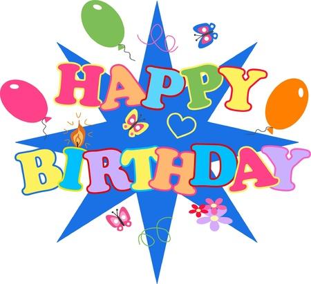 joyeux anniversaire Vecteurs