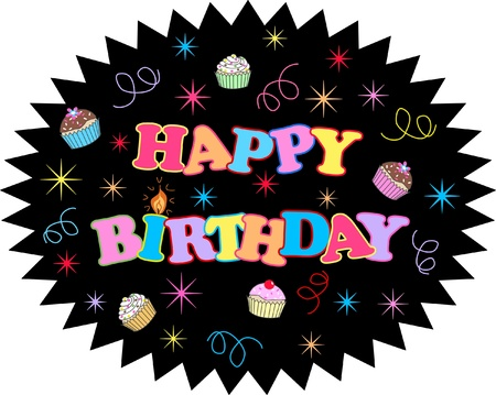 happy birthday Stock Vector - 13259468