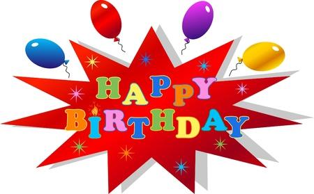 happy birthday Stock Vector - 13453961
