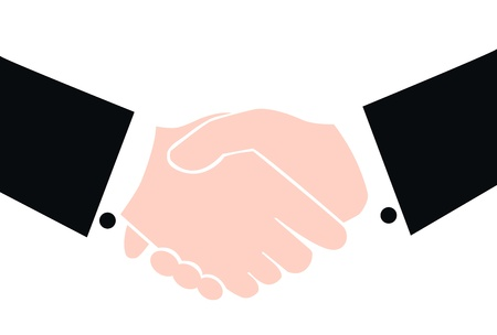 shaking hands Stock Vector - 13911005