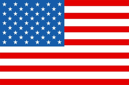 Amerikaanse vlag sterren en strepen