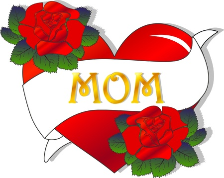 mothers day celebration Stock Vector - 13728375