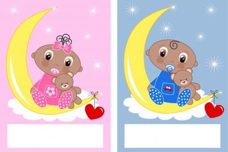 baby shower newborn babies Vector