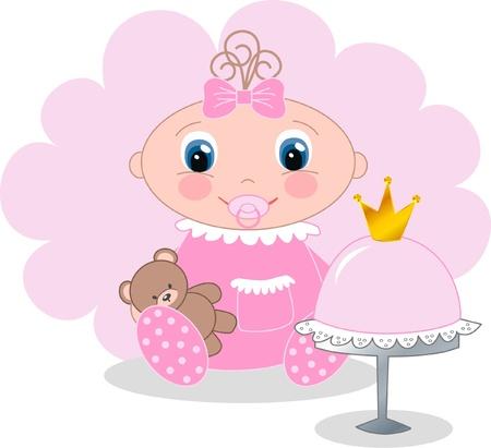 corona de princesa: ni�a