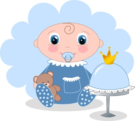 baby boy Stock Vector - 13889521