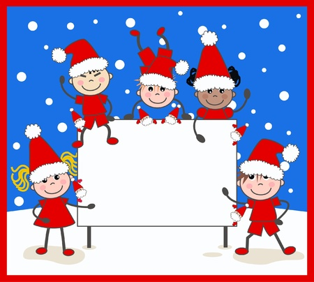 merry christmas Stock Vector - 14152110