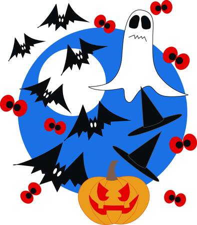 happy halloween Vector