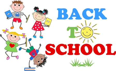 royalty free illustrations: back to school