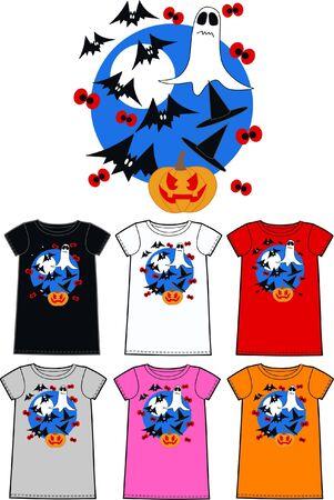 pattern for children wear clothing halloween