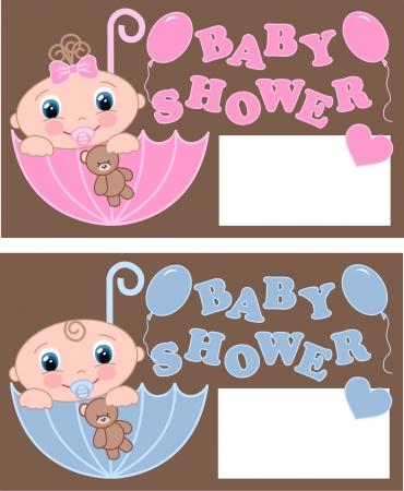 Baby-Dusche Standard-Bild - 15744678
