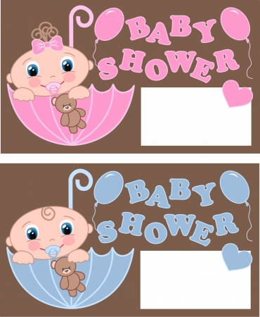 baby shower Stock Vector - 15744678