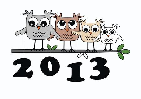 year 2013 Stock Vector - 16052300
