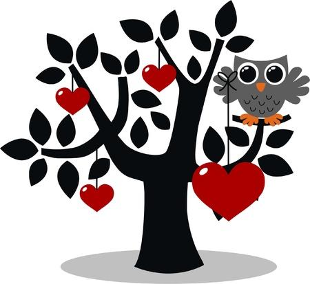 valentine tree: birthday or other celebration