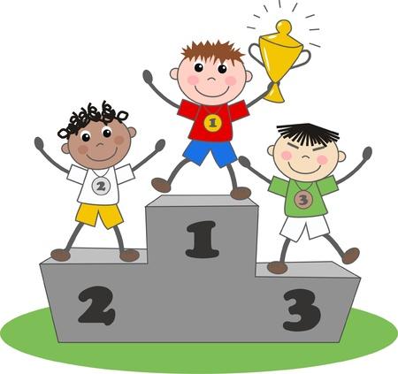 winners gold silver bronze