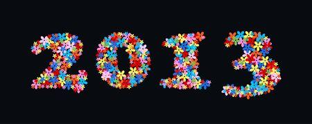 2013 new year Stock Vector - 16401080