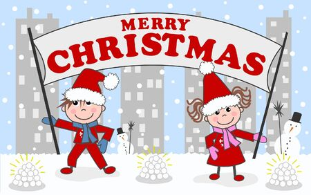 greetin: merry christmas happy holidays