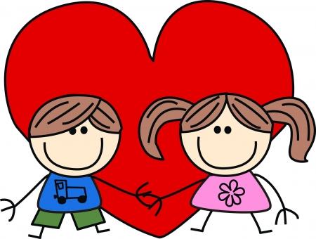 valentines day love friendship Stock Vector - 17074420
