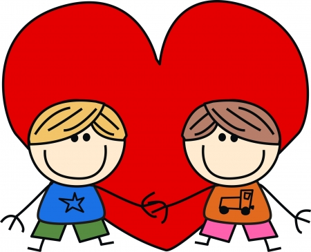 valentines day love friendship Vector