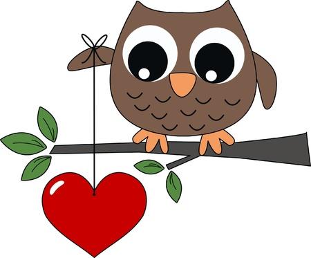 birdie: valentines day or other celebration Illustration