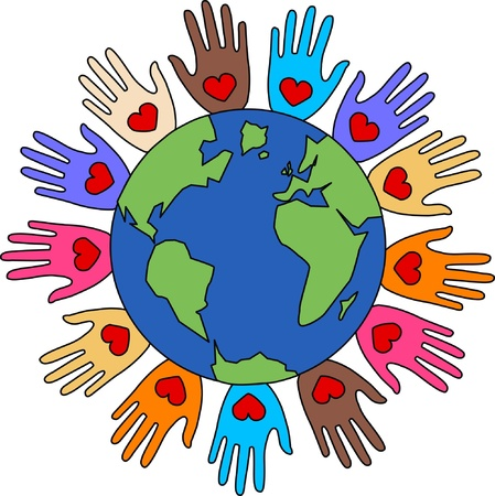 peace freedom diversity love