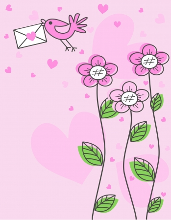 valentines day or other celebration Stock Illustratie