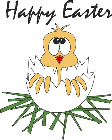 happy easter Stock Vector - 18110743