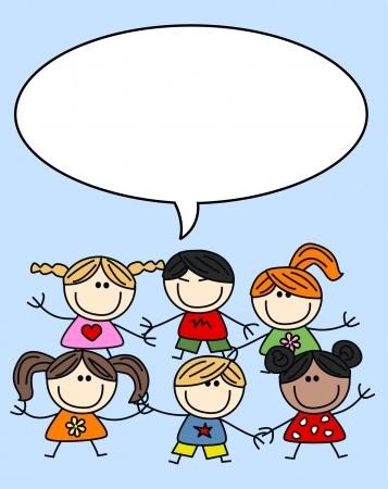 immagine gratuita: bambini di etnici misti multiculturali