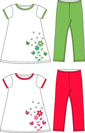 industry pattern: pattern for children wear