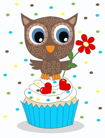 happy birthday or baby shower Vector