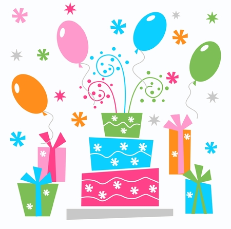 surprise box: happy birthday