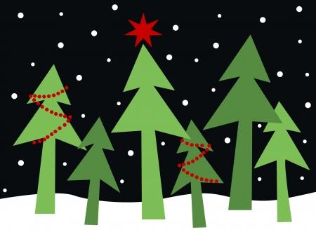 Merry christmas happy holidays Foto de archivo - 23291642