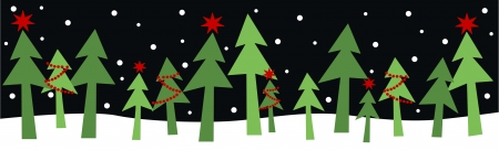 winter holiday: allegro, vacanze di natale felice Vettoriali