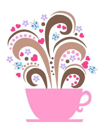 coffe break: coffe break logo logotype header sign