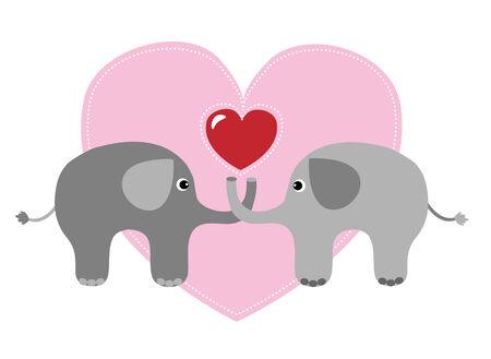 flirty: happy birthday or valentines day Illustration