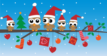 メリー クリスマスの幸せな休日のヘッダーやバナー  イラスト・ベクター素材