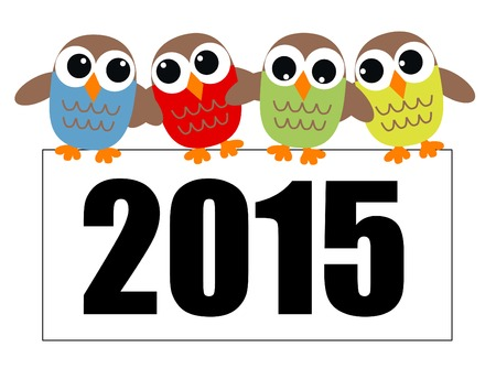 happy new year header or banner Vector