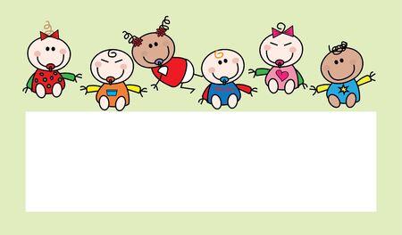 mixed: mixed ethnic babies