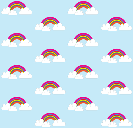 rainbow background pattern Illustration